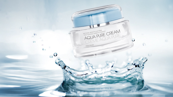 Aqua pure lotion and cream Brigitte Kettner